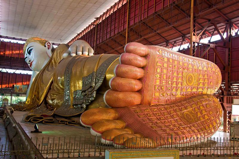 Chaukhtatgyi Paya Reclining Buddha