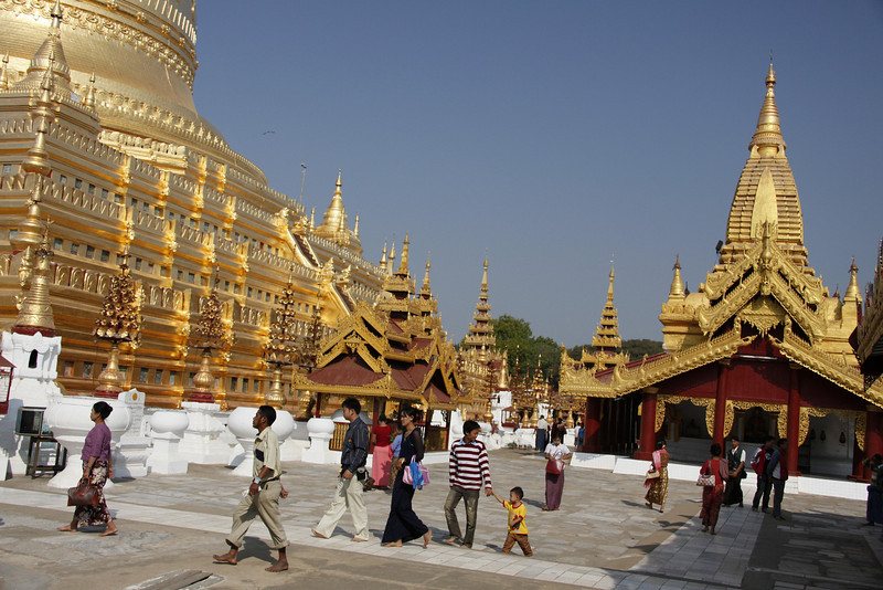 Shwezigon Paya-Completed in 1102