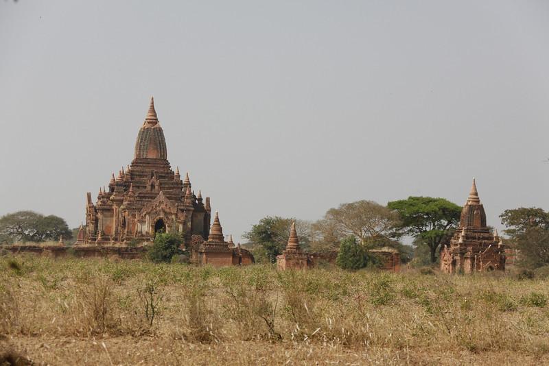 Typical View of Bagan's Surroundings