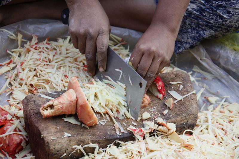 Daily Market-Chopping Jack Fruit