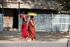 Two Monks on a Bagan Road