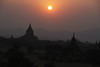 Sundown from a high spot on a Bagan temple