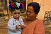 Baby With Tribal Headdress