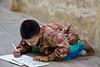 Kid Studying at Mahagandhayon Monastery