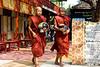 Monks at Mahagandhayon Monastery