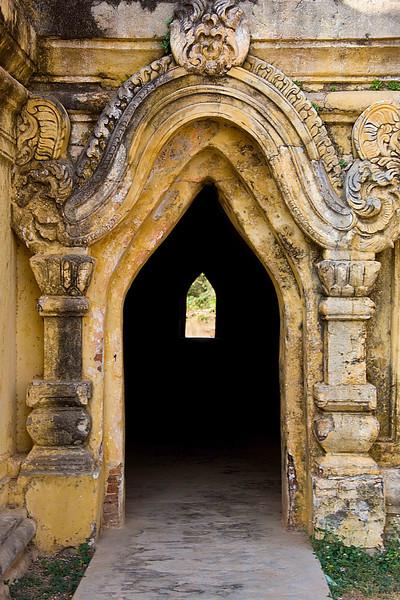 Maha Aungmye Bonzan Monastery on Inwa (AVA) from 1818