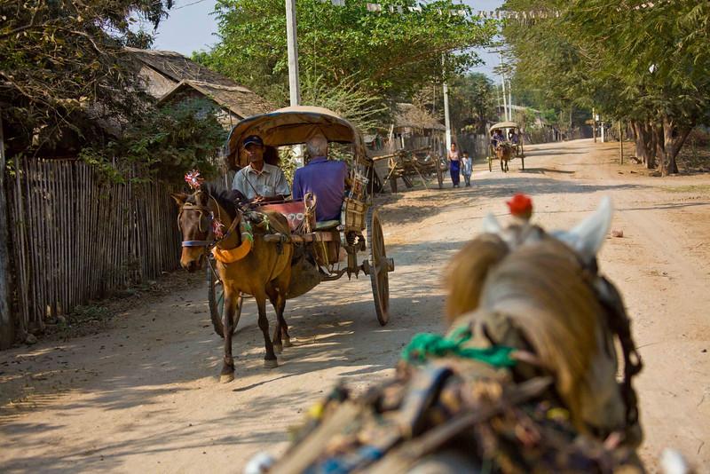 On Inwa (Ava) Island, Capital of Northern Myanmar from 1364 to 1752.