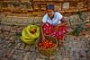 Harvester of Kapok Flowers (tasty food) on Inwa
