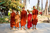 Monks at Bagaya Kyaung Monastery