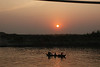 Sundown on the Irrawaddi River