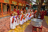 Novices at Mahagandhayon Monastery, Lunch
