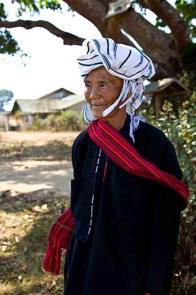 To Market, to Market (Headdresses and black clothing denote tribal affiliation.)
