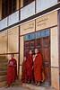 Monkls at Shwe U Min Paya in Pindaya Monastery