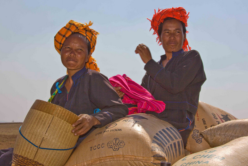 To Market, to Market (Headdresses denote tribal affiliation.)