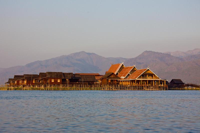 A Hotel at Inle Lake