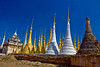 Thaung Tho Kyaung Stupas, Including Some Being Restored