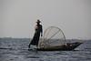 Leg Rower Fisherman at Inle Lake
