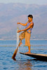 A Leg Rower with a Different Kind of Net