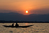 Sunset at Inle Lake