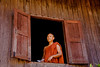 The Abbot of Shwe Yaunghwe Kyaung Monastery Near Inle Lake