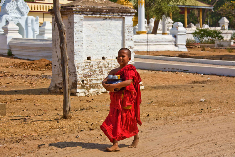 Monk in Salay