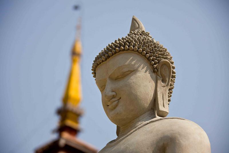 New, not yet finished, Buddha Statue