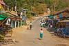 Mt. Popa Village-Green Bottoms/White Tops are the Universal School Uniform in Myanmar