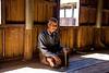 Worshiper in Monastery Inle Lake