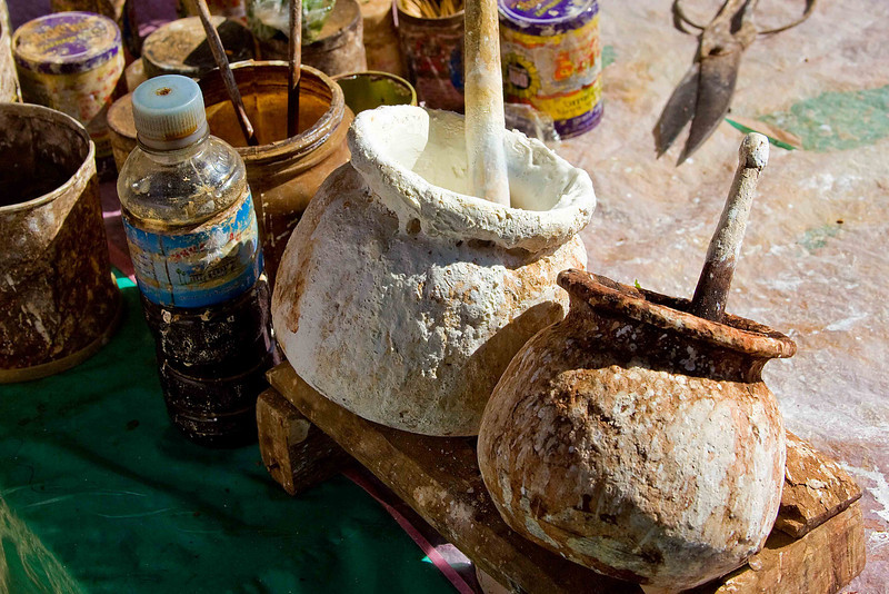 Betel Nut Ingredient Pots