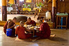 Monks at Lunch in Monastery Inle Lake
