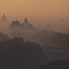 Temples in the mists.