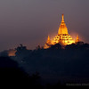 Ananda temple in the pre-dawn light.