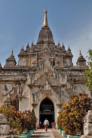 Gawdawpalin Pahto, Bagan, Myanmar, 1 February 2013