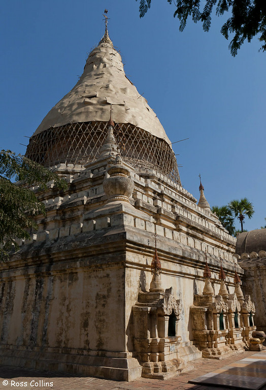 Gubyaukgyi Temple Complex, Myinkaba Village, Bagan, Myanmar, 2 February 2013