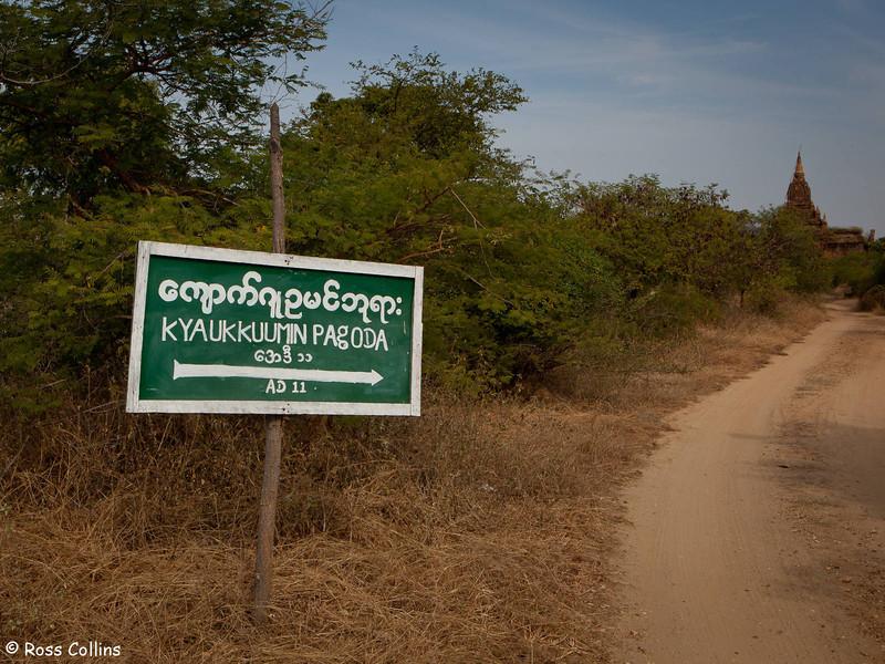 Kyauk Kuumin Pagoda, Nyaung U, Myanmar, 29 January 2014