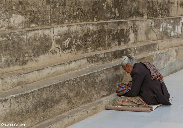 Manuha Paya, Myinkaba Village, Bagan, Myanmar, 1 February 2013