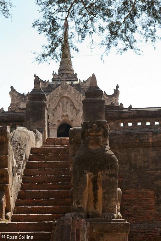 Mimalaung Kyaung Monastery, Bagan, Myanmar, 1 February 2013