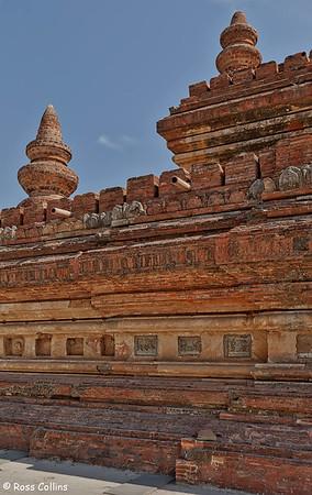 Mingalazedi Paya, Myinkaba Village, New Bagan, Myanmar, 1 February 2013