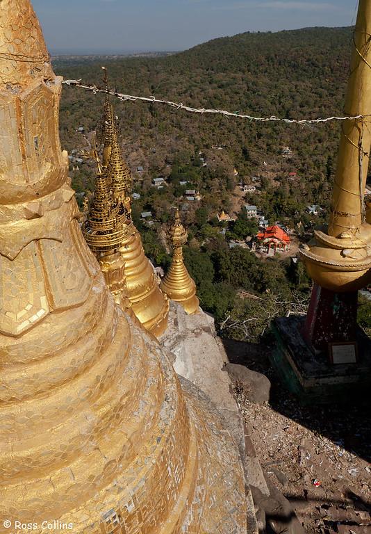 Mt Popa, Bagan, Myanmar, 28 January 2014