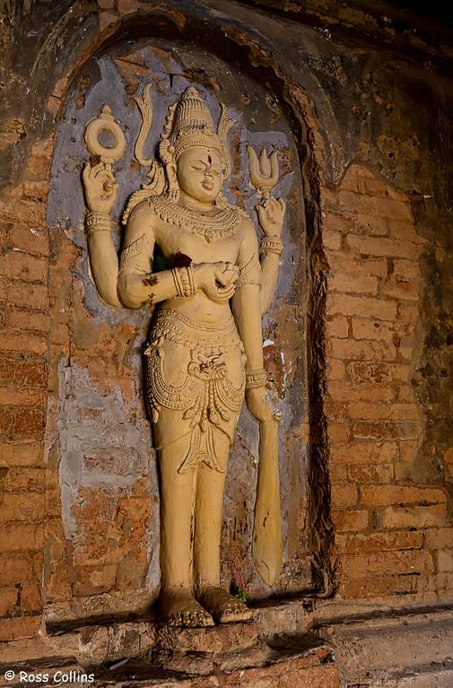 Nathlaung Kyaung Hindu Temple, Bagan, Myanmar, 1 February 2013