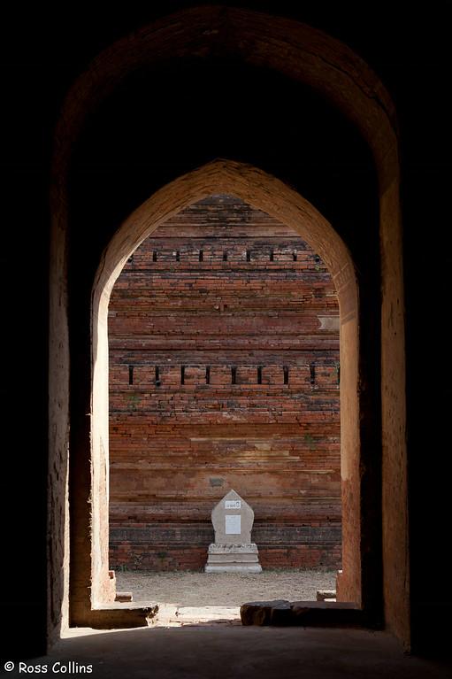 Seinyet Amo Pahto and Seinyet Nyma Stupa, New Bagan, Myanmar, 1 February 2013