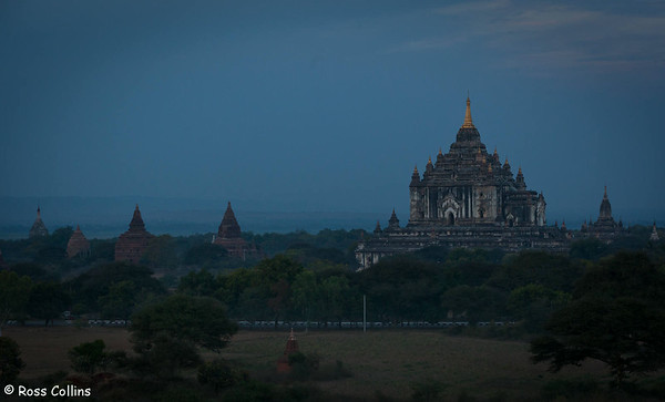 Thatbyinnyu Pahto, Bagan, Myanmar, 1 February 2014