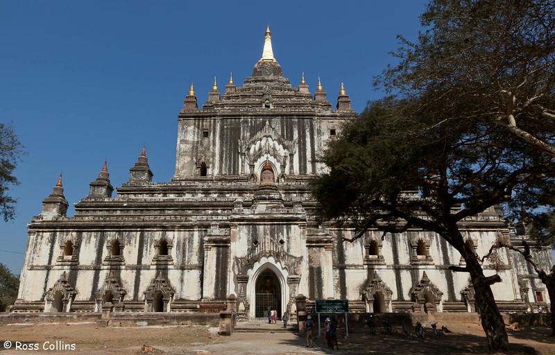 Thatbyinnyu Pahto, Bagan, Myanmar, 2 February 2014