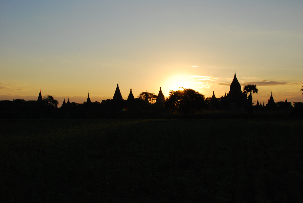 The temples of Bagan, Myanmar (Burma)