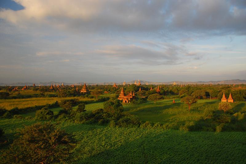 The temples of Bagan, Myanmar (Burma)