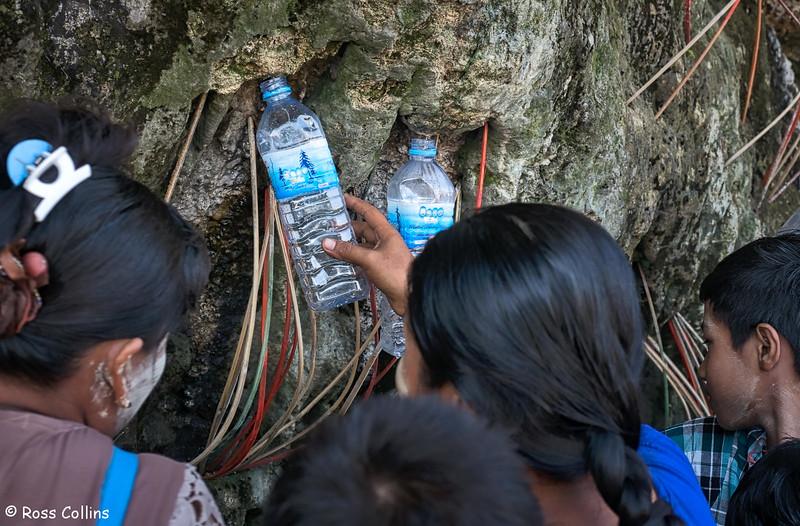 Akauk Taung Buddha images near Htonbo Village, Bago Region, Myanmar, 28 October 2015