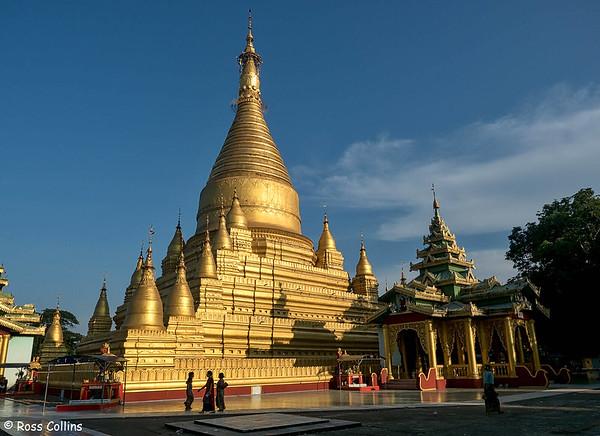 Shwe Bon Thar (Muni) Pagoda, Pyay, Myanmar, 28 October 2015