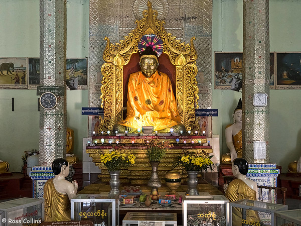 Shwe Myet Man Paya, Shwedaung, near Pyay, 27 October 2015