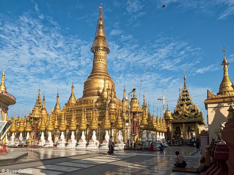 Shwesandaw Pagoda, Pyay, Bago Region, Myanmar, 26 October 2015