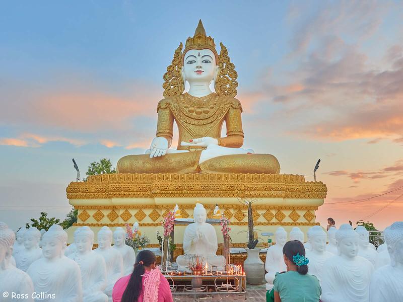 Thousand Buddha Images Pagoda, Bago Region, Myanmar, 28 October 2015